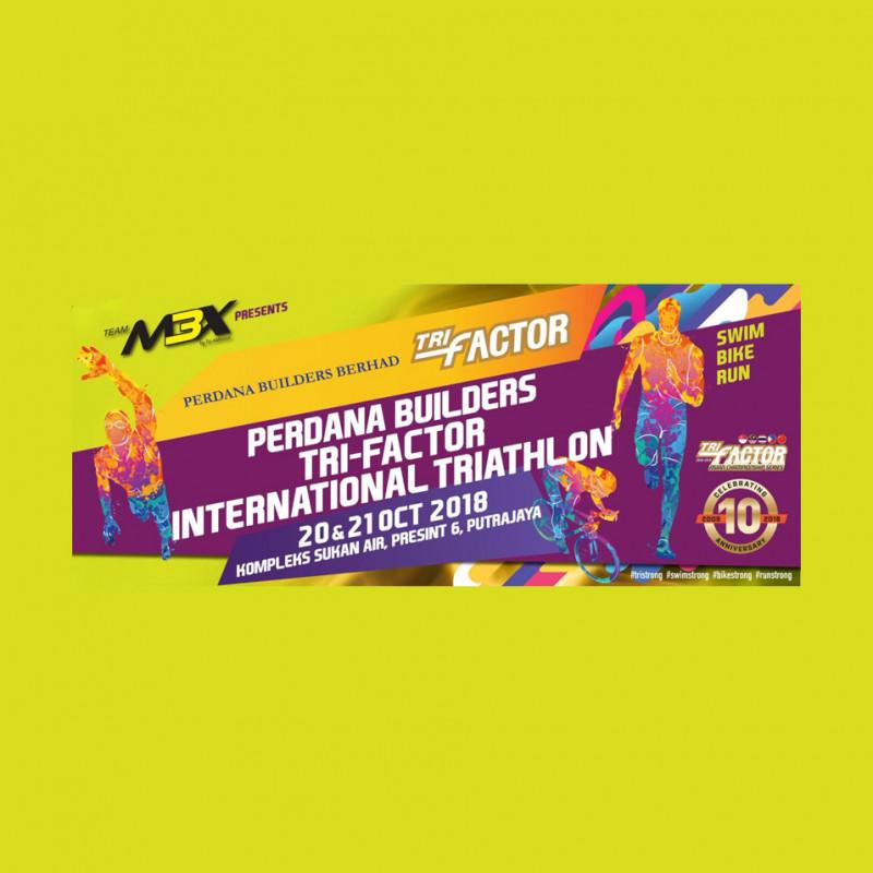 Perdana Builders TRI-Factor International Triathlon 2018